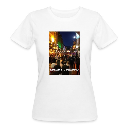 GALWAY IRELAND SHOP STREET - Women's Organic T-Shirt