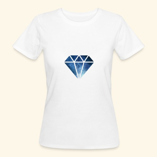 Galaxie Diamant - Frauen Bio-T-Shirt