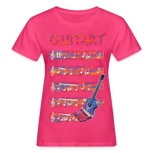GuitArt - Women's Organic T-Shirt