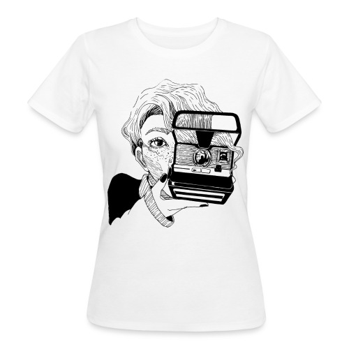 Polaroid girl - Frauen Bio-T-Shirt