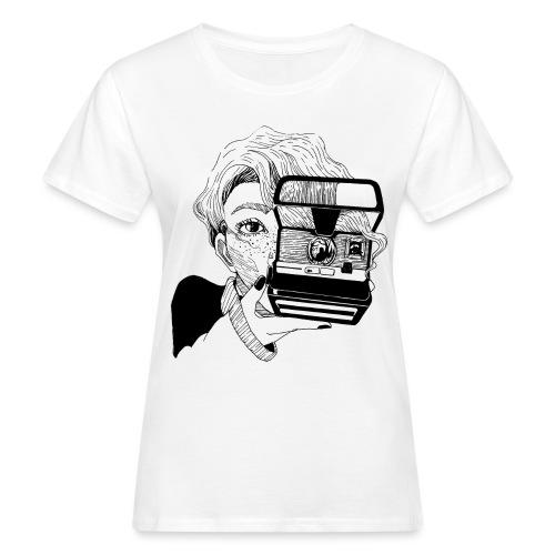 Polaroid girl - Frauen Bio-T-Shirt