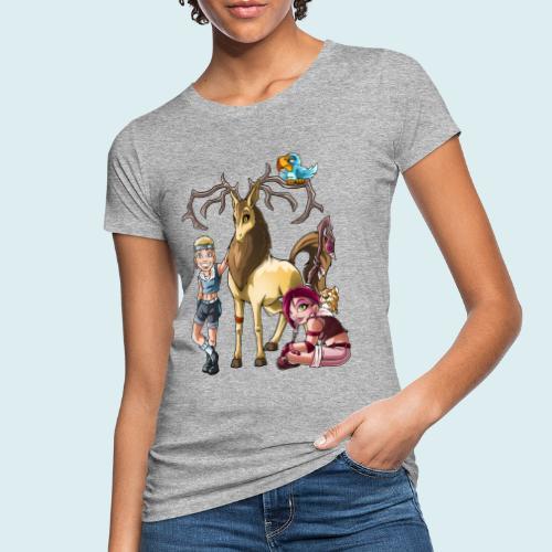 summoner - T-shirt ecologica da donna