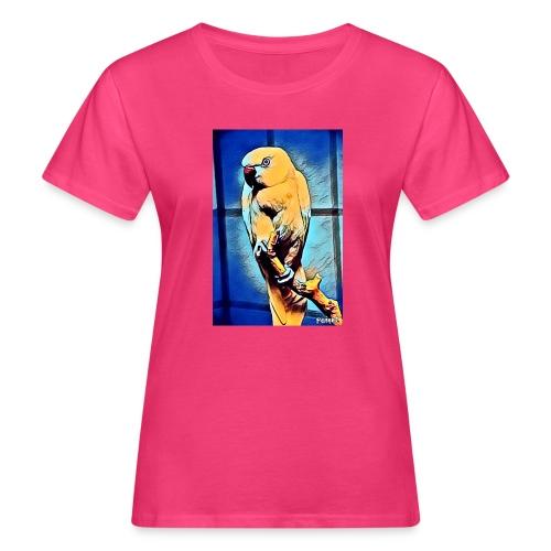 Bird in color - Naisten luonnonmukainen t-paita