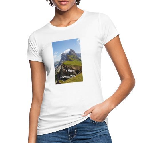 Naturpark Puez Geisler - Frauen Bio-T-Shirt