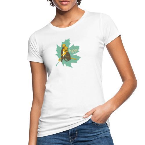 Erdmännchen Herbstfreunde Umarmung - Let's hygge - Frauen Bio-T-Shirt
