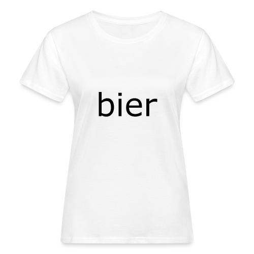 bier - Vrouwen Bio-T-shirt