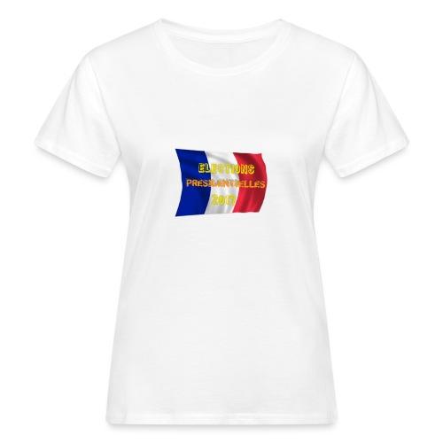 ELECTIONS 2017 - T-shirt bio Femme
