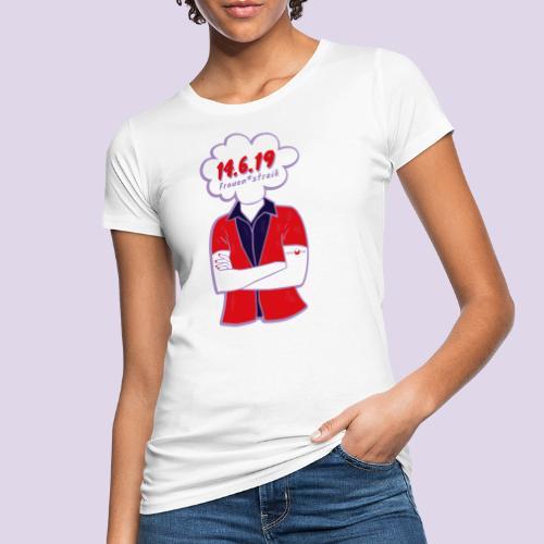 Frauenstreik - Frauen Bio-T-Shirt