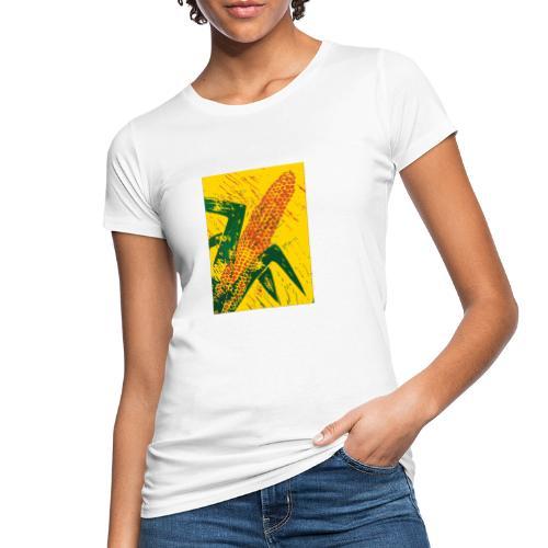 Mais rot - Frauen Bio-T-Shirt