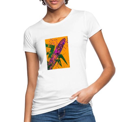 Mais violett - Frauen Bio-T-Shirt
