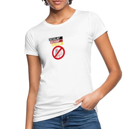 Schlaf-Schaf-Alarm - Frauen Bio-T-Shirt