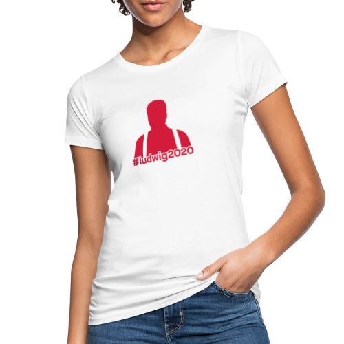 Ludwig Silhouette - Frauen Bio-T-Shirt