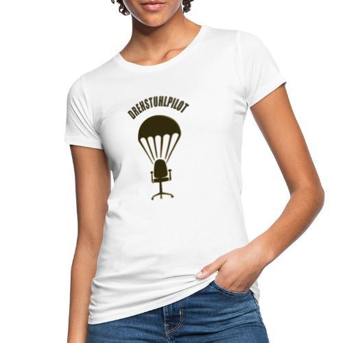 Drehstuhlpilot - Frauen Bio-T-Shirt