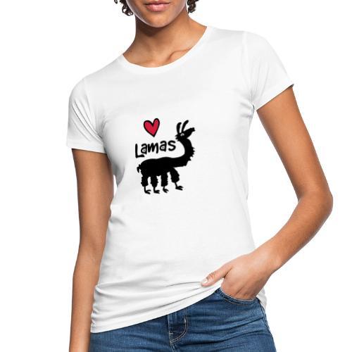 LSherzlama - Frauen Bio-T-Shirt