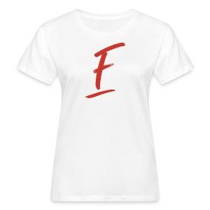 Radio Fugue F Rouge - T-shirt bio Femme