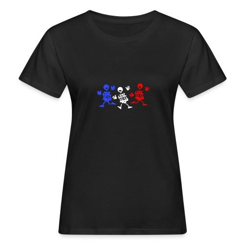 L'été bleu blanc rouge - T-shirt bio Femme