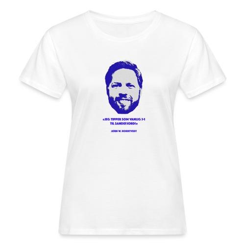 Horntvedt - Økologisk T-skjorte for kvinner