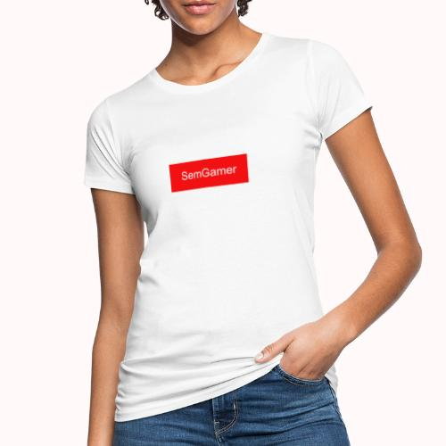 SemGamer in rood vak - Vrouwen Bio-T-shirt
