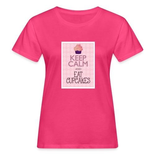 cupcake - T-shirt ecologica da donna