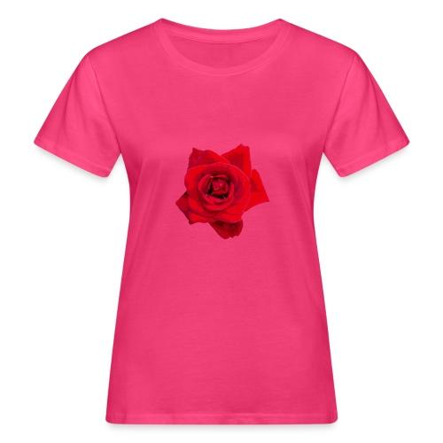 Red Roses - Ekologiczna koszulka damska