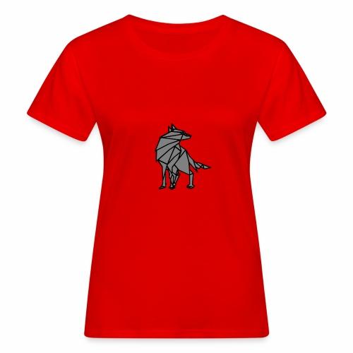 loup geometrique - T-shirt bio Femme