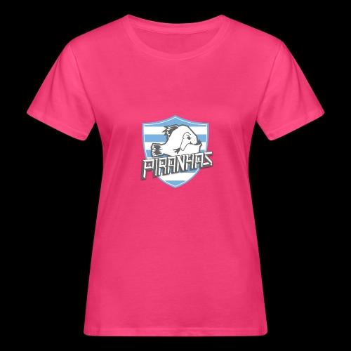 Logo Piranhas v5 - T-shirt bio Femme