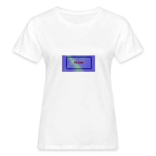 TV.COM - Naisten luonnonmukainen t-paita