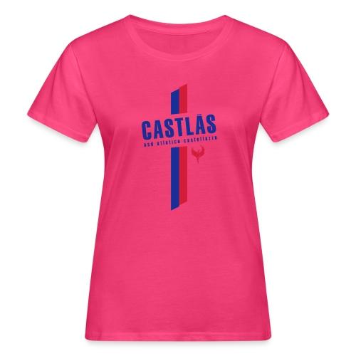 CASTLAS - T-shirt ecologica da donna
