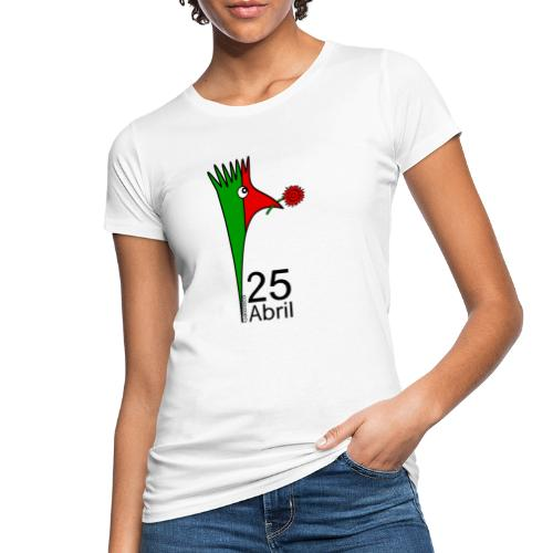 Galoloco - 25 Abril - T-shirt bio Femme