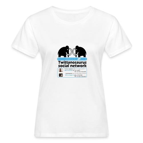 homo sapins versus neandertal - T-shirt bio Femme