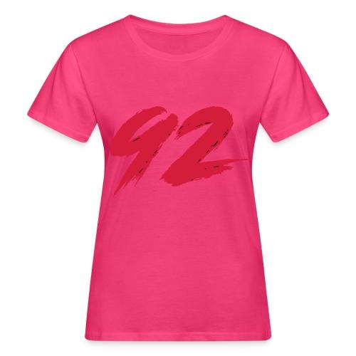 92 Logo 1 - Frauen Bio-T-Shirt