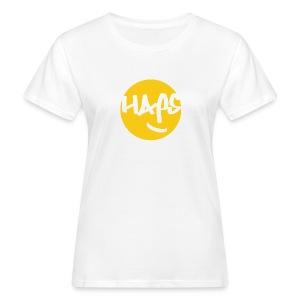 HAPS Yellow Logo - Women's Organic T-shirt
