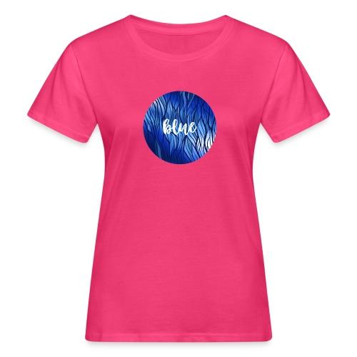 Blue Circle - Wasser Reflektion - Frauen Bio-T-Shirt