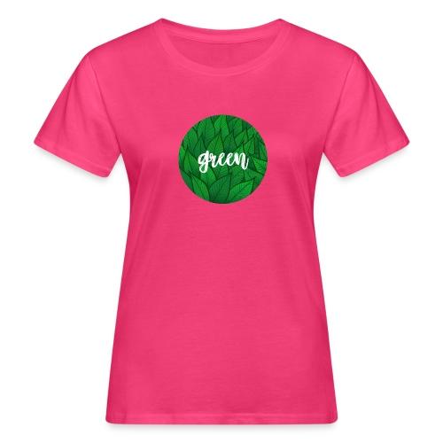 Green Circle - Blätterwerk - Frauen Bio-T-Shirt