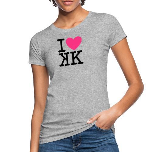I Love KKBd - T-shirt bio Femme