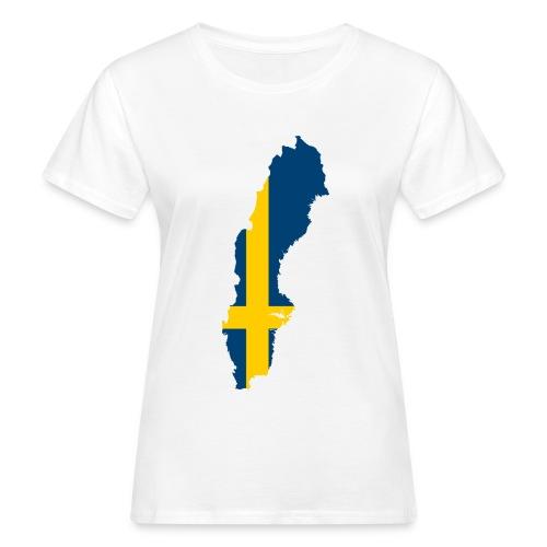 Sweden - Vrouwen Bio-T-shirt