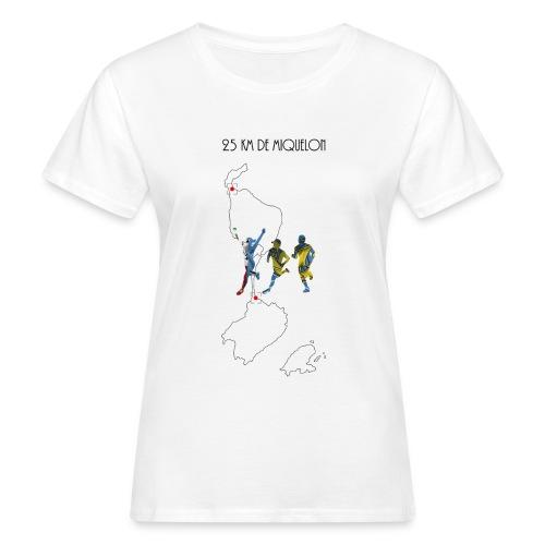 25 km de Miquelon - T-shirt bio Femme