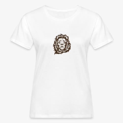 faccia leone - T-shirt ecologica da donna