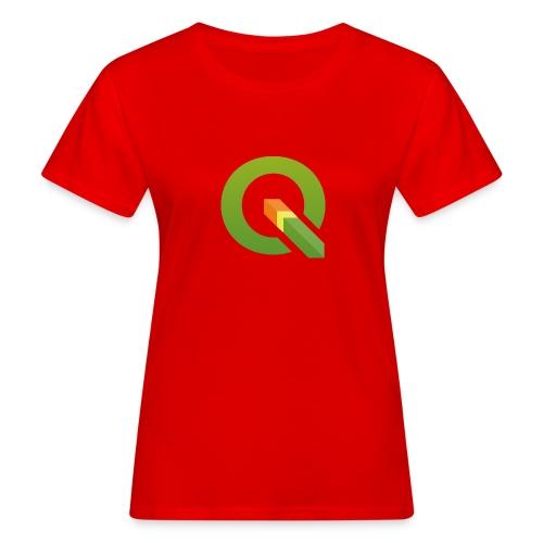 QGIS Q logo - Women's Organic T-Shirt