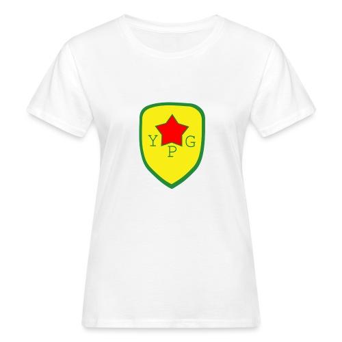 Unisex Red YPG Support Hoodie - Naisten luonnonmukainen t-paita