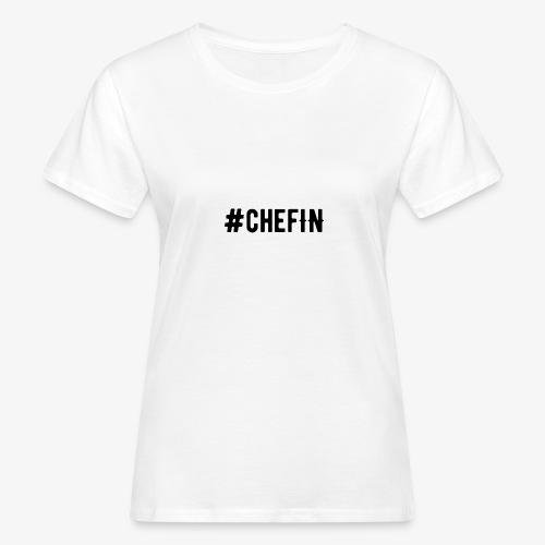 Hashtagchefin 2.0. - Frauen Bio-T-Shirt