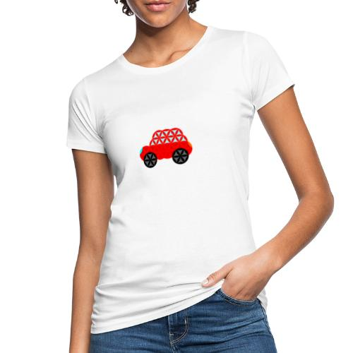 The Car Of Life - M01, Sacred Shapes, Red/R01. - Women's Organic T-Shirt