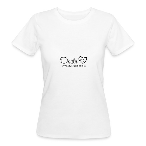 doula sydämet synnytystukihenkilö - Naisten luonnonmukainen t-paita
