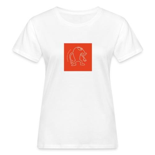 button vektor rot - Frauen Bio-T-Shirt