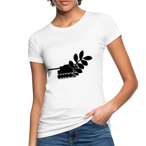 Global Campaign on Military Spending - Logo gray - Women's Organic T-Shirt