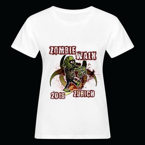 shirt zombie walk3 - Frauen Bio-T-Shirt