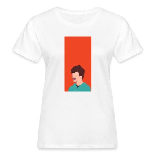 Aron Deksel v.2 6/6S - Økologisk T-skjorte for kvinner