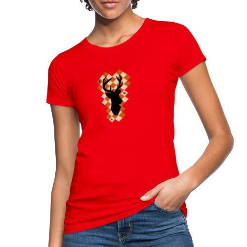 DeerSquare - Naisten luonnonmukainen t-paita