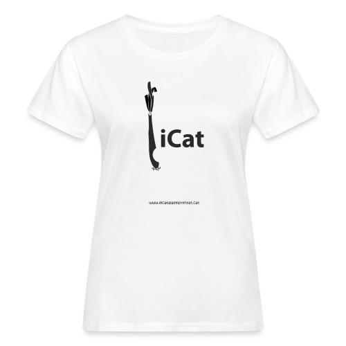 iCat - Camiseta ecológica mujer