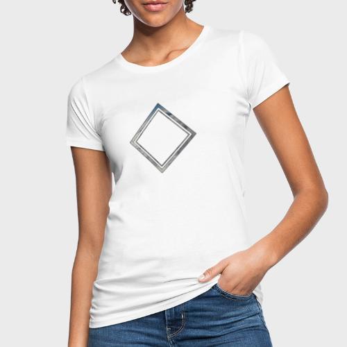 Cloud Square - Frauen Bio-T-Shirt
